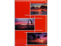 Fotoalbum B-46300/2S Gleam 2 červené