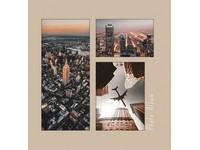 Fotoalbum B-46500S Metropolis 1 béžové