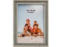 Fotorámeček Malaga 15x21 04 šedozelený