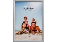 Fotorámeček Notte 21x29,7 9 stříbrný