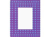 Fotorámeček 3D 10x15 samolepicí 3 fialový