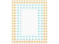 Fotorámeček 3D 10x15 samolepicí 5 žlutomodrý