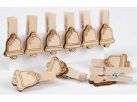Kolíčky dekorační XFR-004 zvoneček