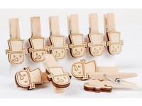 Kolíčky dekorační XFR-009 sněhulák