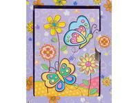Diář Butterflies 4 fialový
