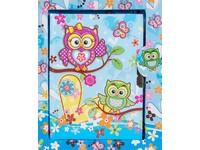 Diář Owls 1 modrý