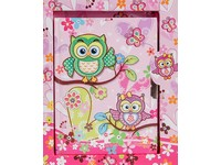 Diář Owls 2 růžový