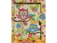 Diář Owls 3 žlutý