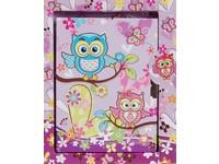 Diář Owls 4 fialový