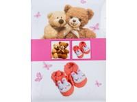 Fotoalbum B-46200SB Bear 2 růžové PL