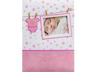 Fotoalbum B-46300/2SB Baby 2 bílo růžové