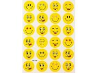 Samolepka Smiley 02 žluté