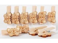 Kolíčky dekorační LTC-002 motýlci
