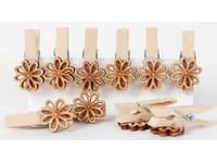 Kolíčky dekorační LTC-005 kytičky