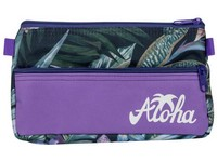 Penál etue 2 zipy Aloha 01 fialový