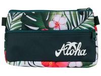 Penál etue 2 zipy Aloha 02 zelený