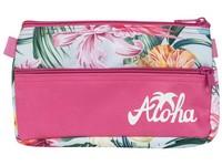 Penál etue 2 zipy Aloha 03 růžový