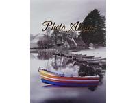 Fotoalbum DRS-10 Boat 4 modrooranžová loď PL