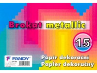Papier dekoračný Brokat metallic 15