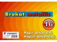 Papier dekoračný Brokat metallic 16