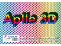Papier dekoračný samolepiací Aplle 3D