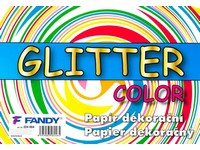 Papier dekoračný Glitter Color