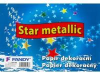 Papier dekoračný Star metallic