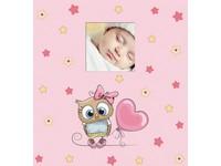 Fotoalbum KD-46200B Owls 2 růžové