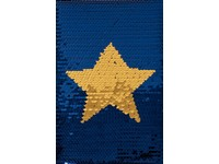 Zápisník A5 Sparkle 8 hvězda