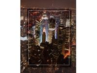 Fotoalbum DPH-46304/2 City by night 3 červené PL