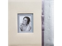 Fotoalbum DBCM-30W Lace 1 stříbrné