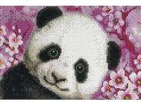 Mozaika diamantová A 15 panda