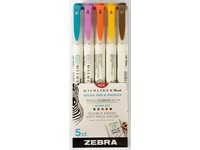 Sada Mildliner 5 Brush Warm Colors