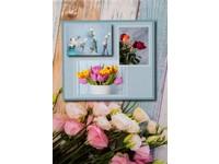 Fotoalbum DRS-10 Flower power 2 modré PL