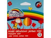 Pastelky 12 Soft Mini Jumbo