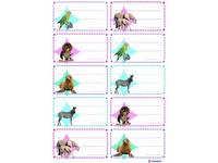 Etikety na sešity 06 zvířata