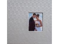 Fotoalbum KD-46200W Wedd-47 2 stříbrné PL