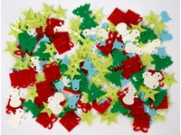 Flitry Vánoce DPCE-034 mix barev DP