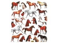 Samolepky papírové DPNK-123 koně DP
